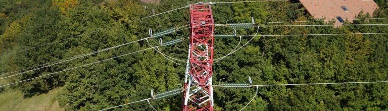 Inspection de pylône