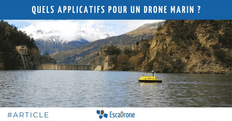 Quels applicatifs pour un drone marin ?