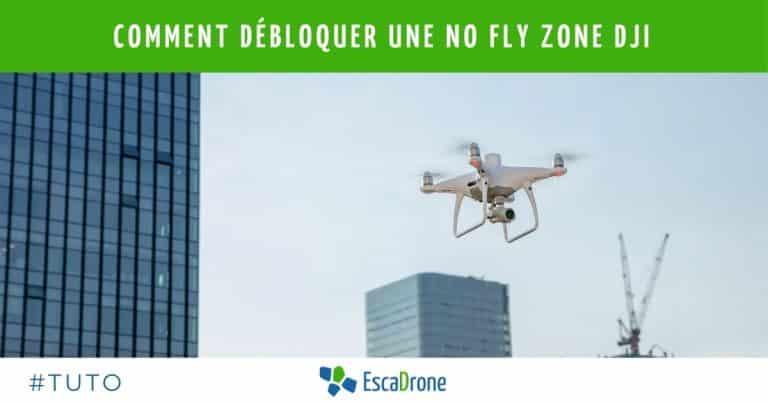 Comment débloquer une No fly-zone sur DJI