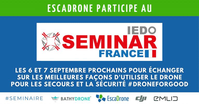 Escadrone participe au séminaire de l'IEDO 2021