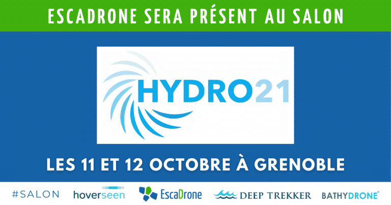 Escadrone au salon Hydro 21 les 11 & 12 Octobre à Grenoble