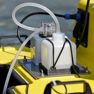 Pompe péristaltique pour Bathydrone