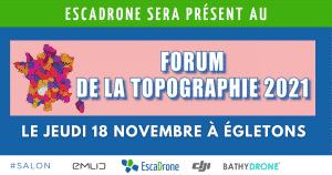 Escadrone au 16ème Forum de la Topographie le 18 novembre